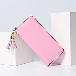 Coque Pochette Cuir Universel H24 Rose