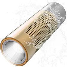 Mini Haut Parleur Enceinte Portable Sans Fil Bluetooth Haut-Parleur S15 Or
