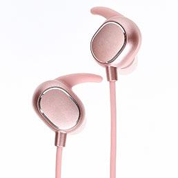 Ecouteur Sport Bluetooth Stereo Casque Intra-auriculaire Sans fil Oreillette H43 Rose