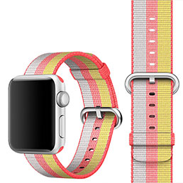 Bracelet Milanais pour Apple iWatch 38mm Rouge