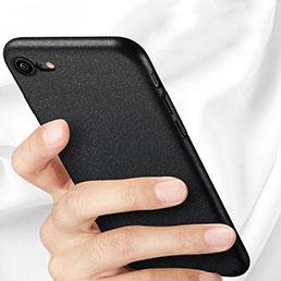 Coque Plastique Rigide Sables Mouvants pour Apple iPhone 7 Noir