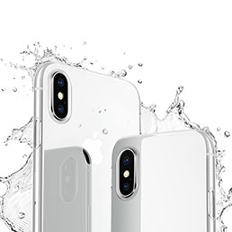 Coque Ultra Fine Silicone Souple Transparente pour Apple iPhone X Clair