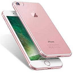 Housse Ultra Fine TPU Souple Transparente T06 pour Apple iPhone 7 Clair