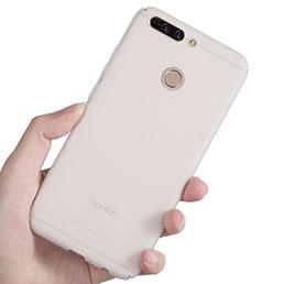 Coque Ultra Fine Plastique Rigide Transparente pour Huawei Honor 8 Pro Blanc