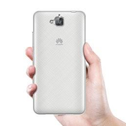 Coque Ultra Fine Silicone Souple Transparente pour Huawei Enjoy 5 Blanc