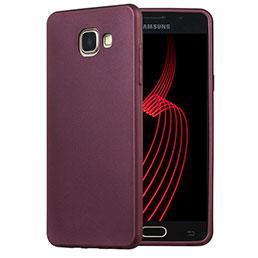 Etui Ultra Fine Silicone Souple pour Samsung Galaxy A5 (2016) Violet