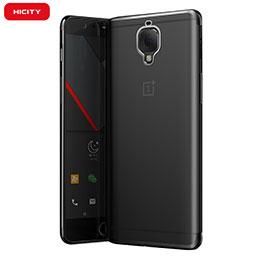 Housse Ultra Fine TPU Souple Transparente T05 pour OnePlus 3 Gris