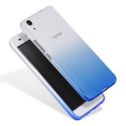 Housse Ultra Fine Transparente Souple Degrade pour Huawei Honor 4A Bleu
