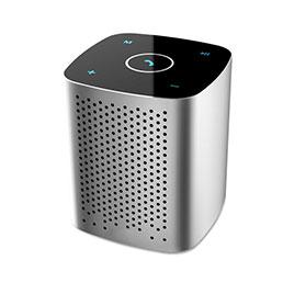 Mini Haut Parleur Enceinte Portable Sans Fil Bluetooth Haut-Parleur S10 Argent