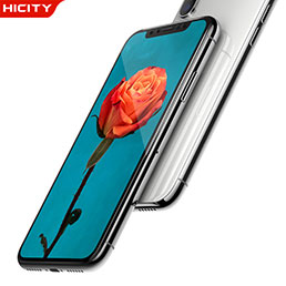 Film Protecteur d'Ecran Verre Trempe Integrale F04 pour Apple iPhone X Noir