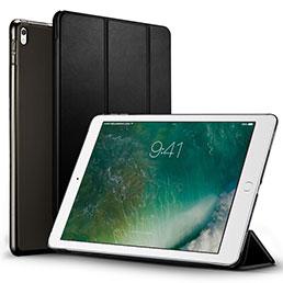 Etui Portefeuille Livre Cuir pour Apple iPad Pro 12.9 (2017) Noir