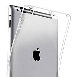 Housse Ultra Fine Silicone Souple Transparente pour Apple iPad 4 Clair