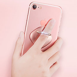 Support Bague Anneau Support Telephone Universel R03 Or Rose