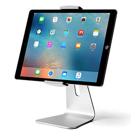 Support de Bureau Support Tablette Universel T24 pour Apple iPad Pro 10.5 Argent