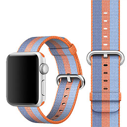 Bracelet Milanais pour Apple iWatch 3 42mm Orange