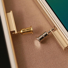 Bouchon Anti-poussiere Jack 3.5mm Android Apple Universel D03 Or
