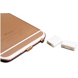Bouchon Anti-poussiere Lightning USB Jack J02 pour Apple iPhone X Or