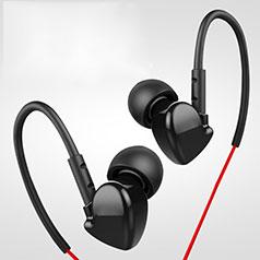 Ecouteur Casque Filaire Sport Stereo Intra-auriculaire Oreillette H36 Noir