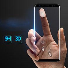 Film Protecteur d'Ecran Verre Trempe Integrale F07 pour Samsung Galaxy S8 Plus Noir