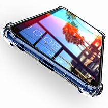 Housse Ultra Fine TPU Souple Transparente T04 pour Huawei Y7 (2018) Clair
