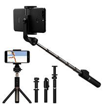 Perche de Selfie Sans Fil Bluetooth Baton de Selfie Extensible de Poche Universel S23 Noir