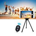 Perche de Selfie Sans Fil Bluetooth Baton de Selfie Extensible de Poche Universel S26 Noir