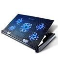 Support Ordinateur Portable Ventilateur de Refroidissement Radiateur Universel 9 Pouces a 16 Pouces M01 pour Apple MacBook Pro 15 pouces Retina Noir
