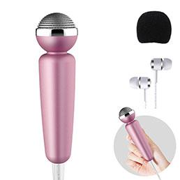 3.5mm Mini Microphone de Poche Elegant Karaoke Haut-Parleur M10 Noir