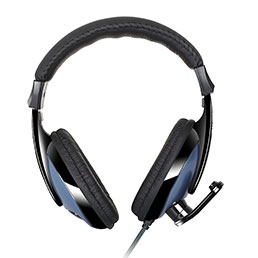 Casque Ecouteur Filaire Sport Stereo Intra-auriculaire Oreillette H53 Bleu