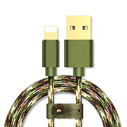 Chargeur Cable Data Synchro Cable L03 pour Apple iPhone 5 Vert