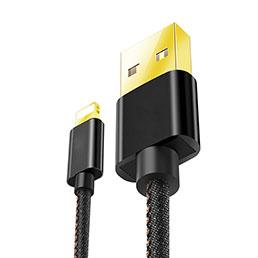 Chargeur Cable Data Synchro Cable L04 pour Apple iPhone 5C Noir