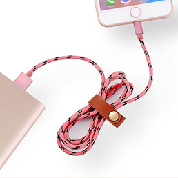 Chargeur Cable Data Synchro Cable L05 pour Apple iPhone 5 Rose