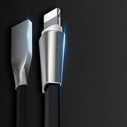 Chargeur Cable Data Synchro Cable L06 pour Apple iPhone 5C Noir