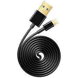 Chargeur Cable Data Synchro Cable L12 pour Apple iPhone 5S Noir