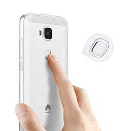 Coque Ultra Fine Silicone Souple Transparente pour Huawei Ascend G7 Plus G8 Blanc
