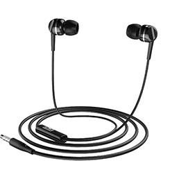 Ecouteur Casque Filaire Sport Stereo Intra-auriculaire Oreillette H09 Noir