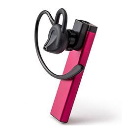 Ecouteur Casque Sport Bluetooth Stereo Intra-auriculaire Sans fil Oreillette H44 Rose Rouge