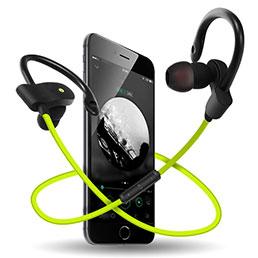Ecouteur Casque Sport Bluetooth Stereo Intra-auriculaire Sans fil Oreillette H48 Vert