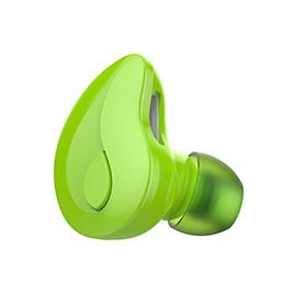 Ecouteur Casque Sport Bluetooth Stereo Intra-auriculaire Sans fil Oreillette H54 Vert