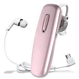 Ecouteur Sport Bluetooth Stereo Casque Intra-auriculaire Sans fil Oreillette H37 Rose