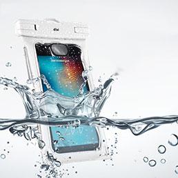 Etui Pochette Etanche Waterproof Universel Blanc