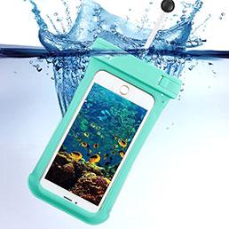 Etui Pochette Etanche Waterproof Universel Vert