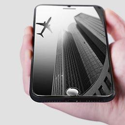 Film Verre Trempe Protecteur d'Ecran F12 pour Apple iPhone 8 Plus Clair