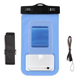 Housse Pochette Etanche Waterproof Universel W04 Bleu Ciel