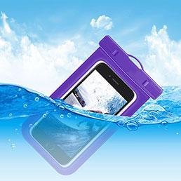 Housse Pochette Etanche Waterproof Universel W05 Violet