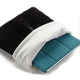 Housse Pochette Velour Tissu pour Apple iPad 2 Noir
