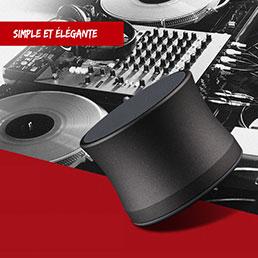 Mini Haut Parleur Enceinte Portable Sans Fil Bluetooth Haut-Parleur S14 Noir