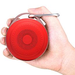 Mini Haut Parleur Enceinte Portable Sans Fil Bluetooth Haut-Parleur S20 Rouge
