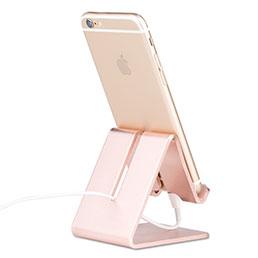 Support de Bureau Support Smartphone Universel Or Rose