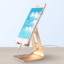 Support de Bureau Support Smartphone Universel T08 Or